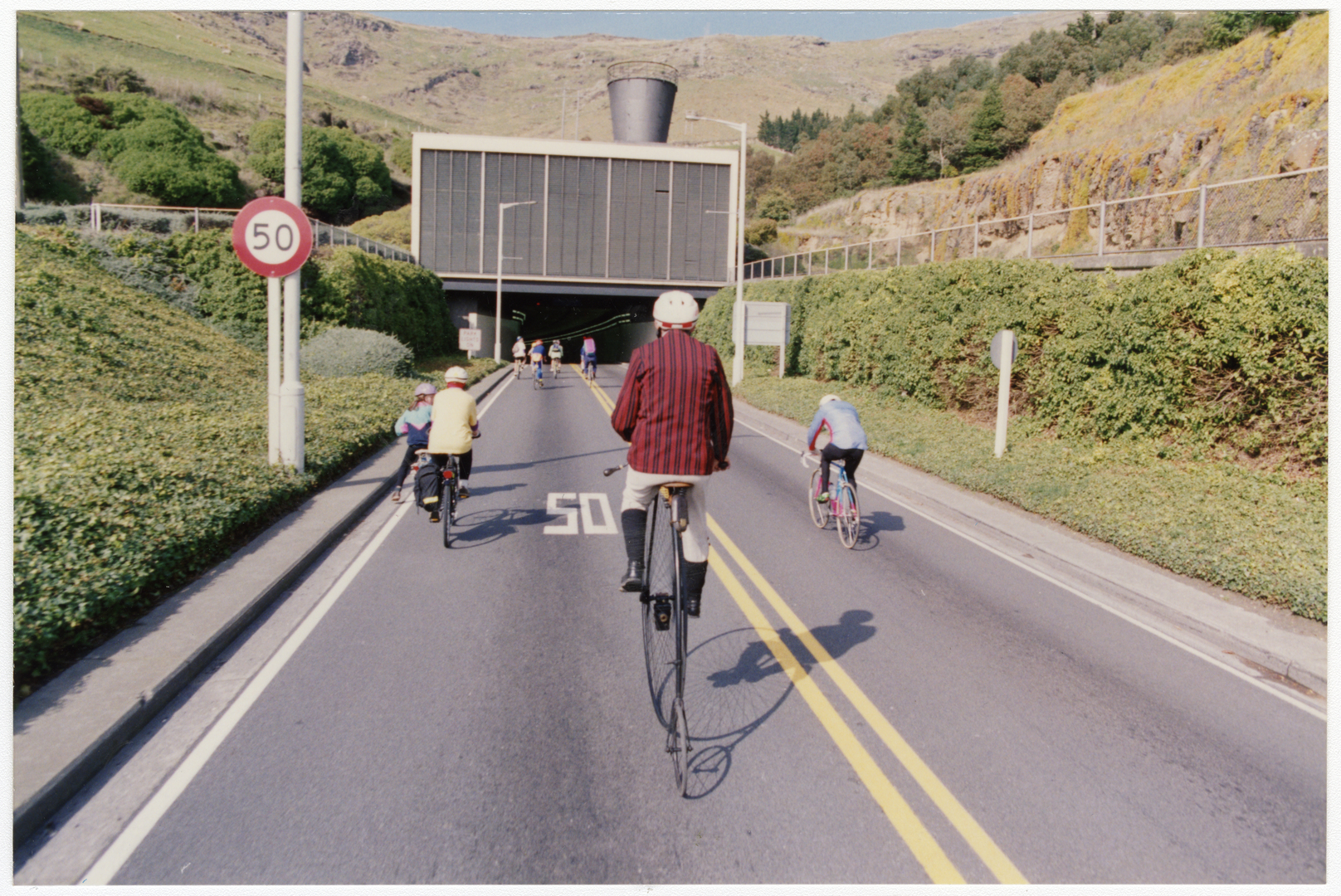 Bicycles and Lyttelton tunnel