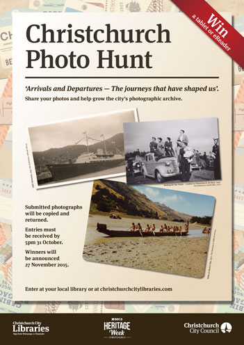 2015 Photo Hunt Poster
