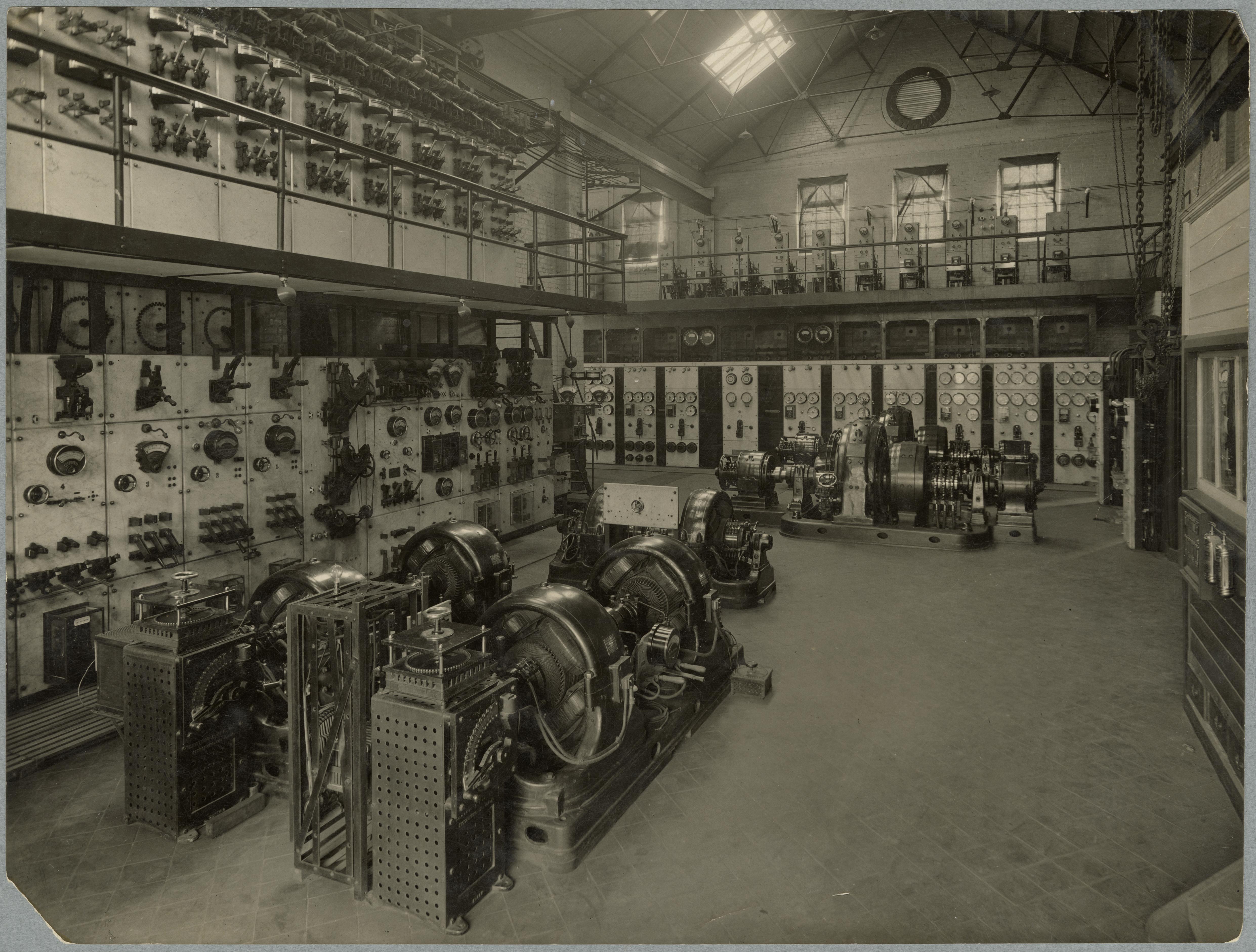 Image of Main converter station interior