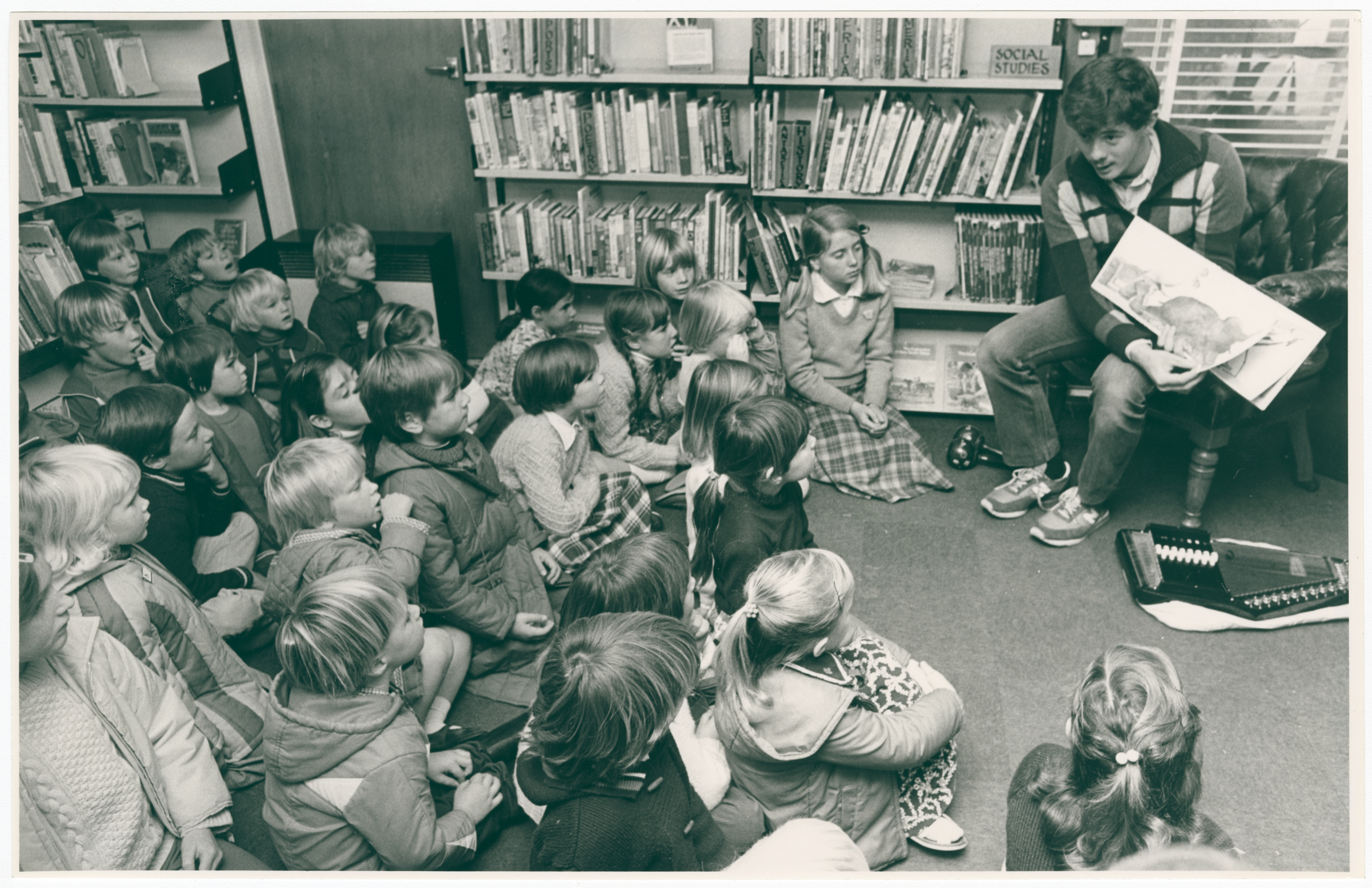 Story time at Halswell Library