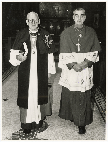 Most Rev Dr. B. P. Ashby with Bishop Wiggins