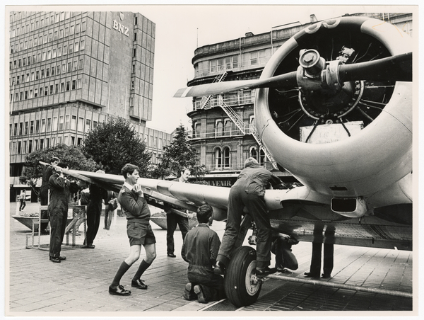 Harvard Aircraft in Cathedral Square