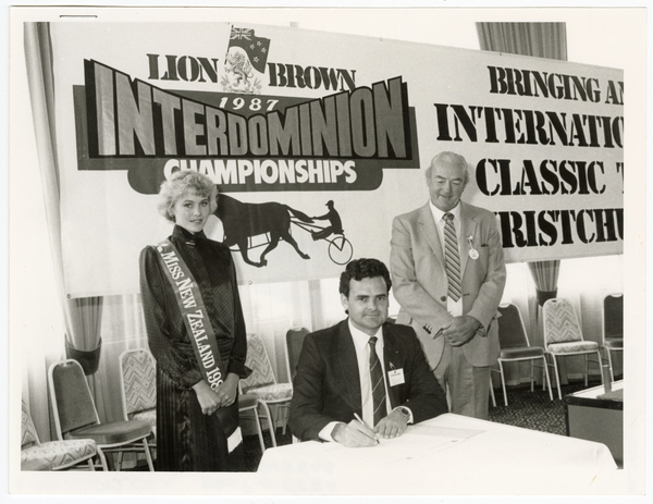 Lion Brown 1987 Interdominion Championships sponsorship