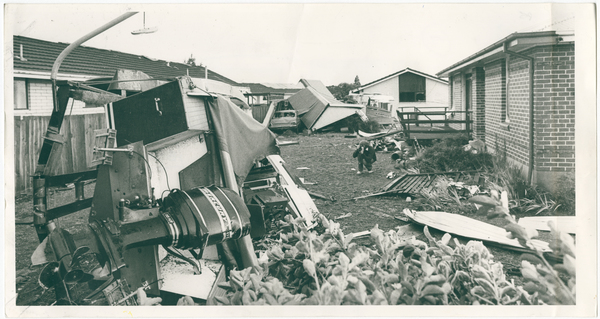 Damage to property caused by the Halswell tornado