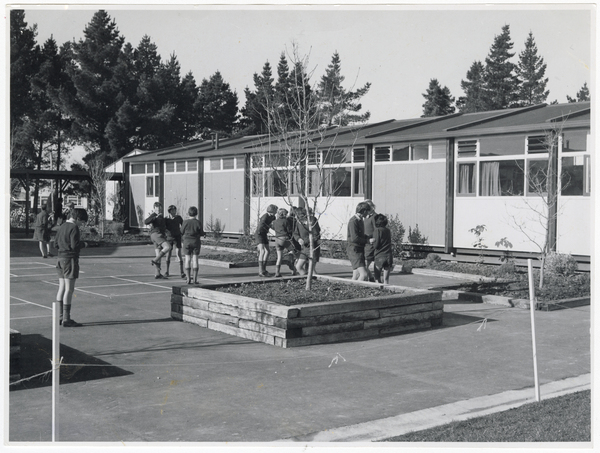 Hornby High School classrooms and students