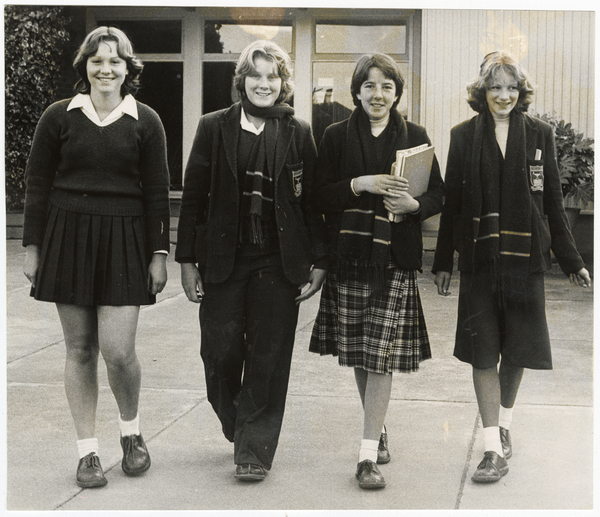 Riccarton High School uniform designs