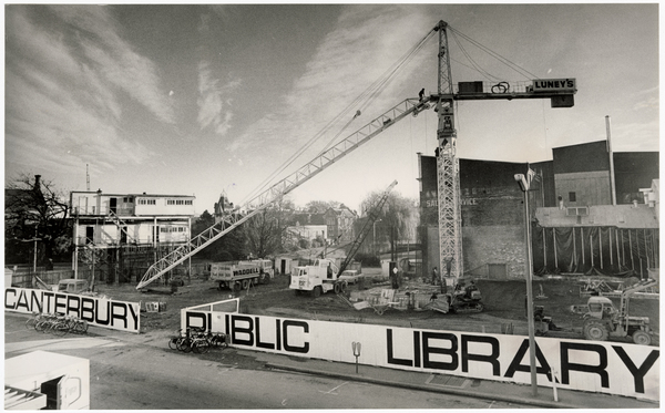 Site for Canterbury Public Library