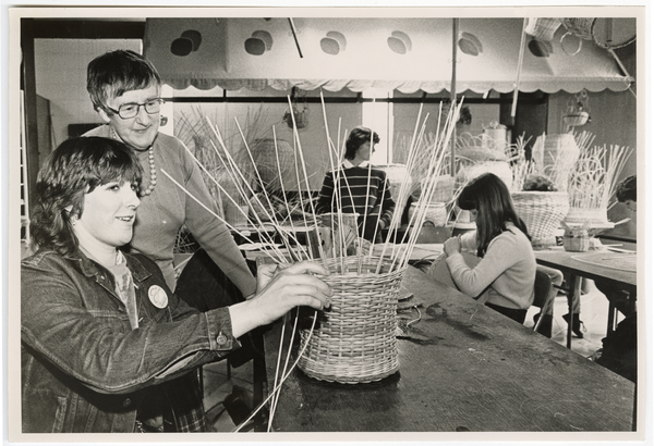 Basket making workshop, Durham Street Methodist Church