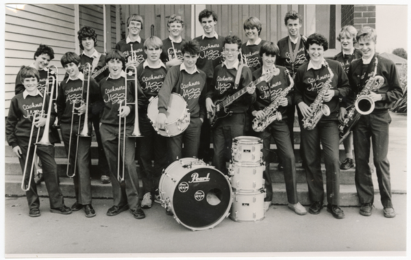Cashmere High School Jazz band