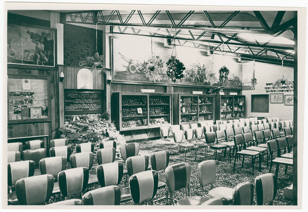 The Charles Upham lounge at the Christchurch RSA