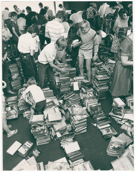 Paparua County Library book sale