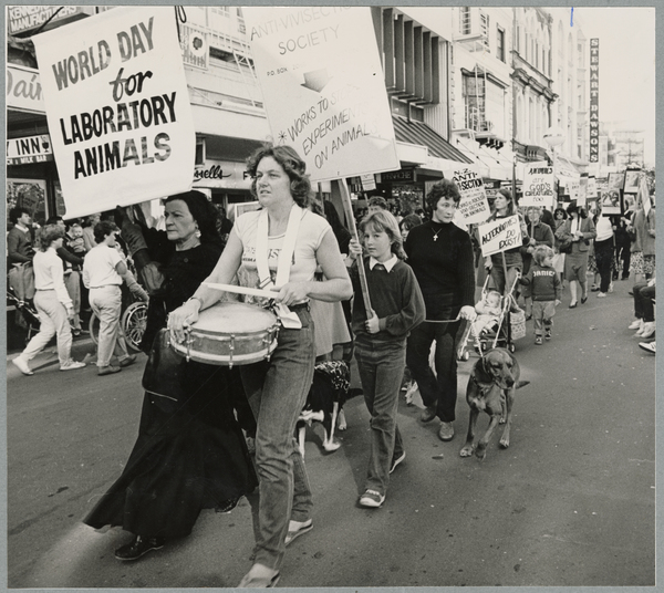 World Day for Laboratory Animals march