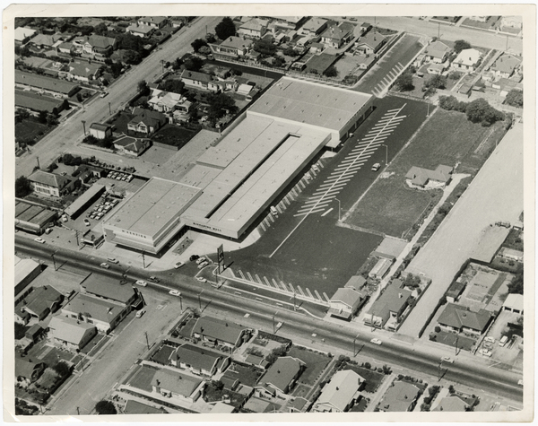 Aerial view of Riccarton Mall