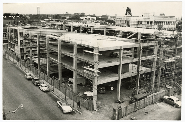 Construction of the Manchester Street parking building