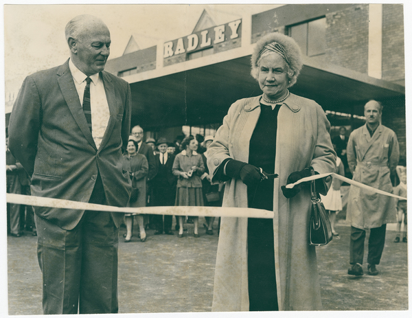Opening of Market Row