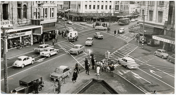Intersection of Cashel Street and High Street