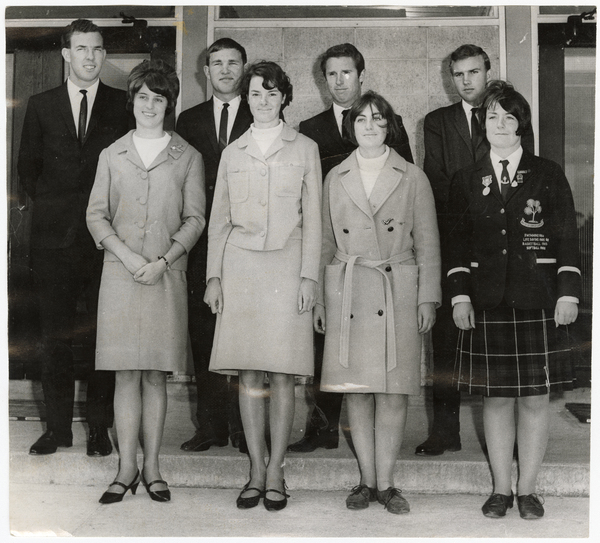 The former prefects of Burnside High School