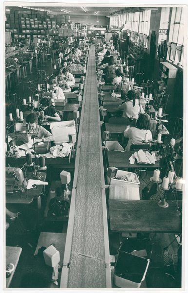 The Marathon Rubber Footwear factory