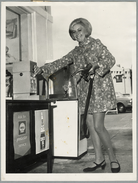 Coin operated petrol pump