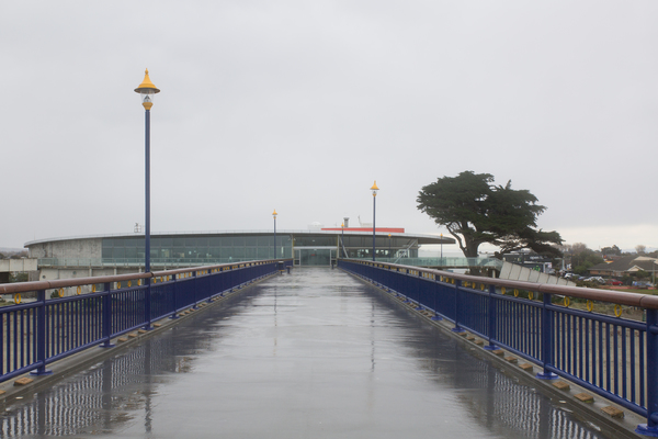 New Brighton Pier and Library
