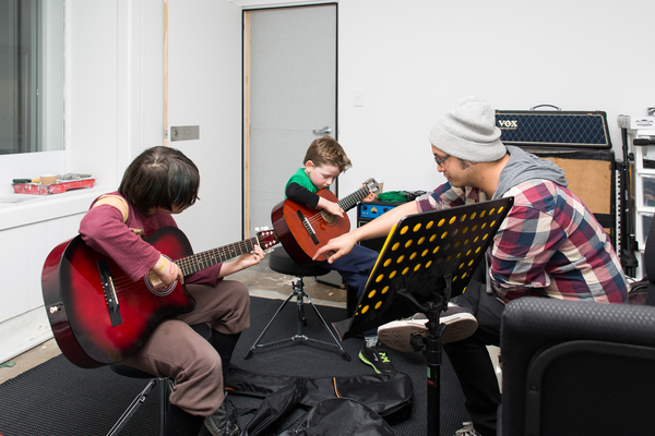 Guitar lessons at the Grace Vineyard Beach Campus