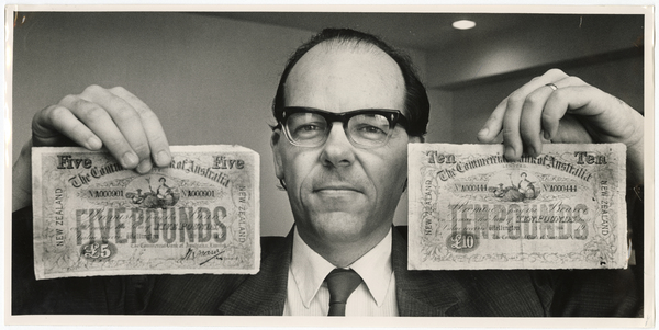 Rare bank notes from Eric Price's collection