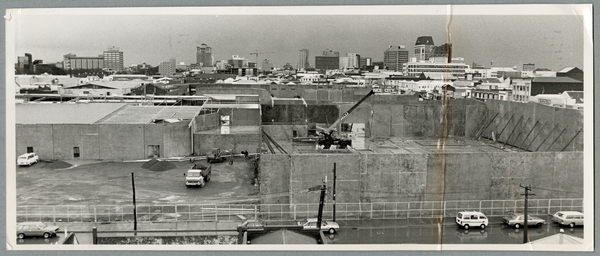 Construction of South City Shopping Centre