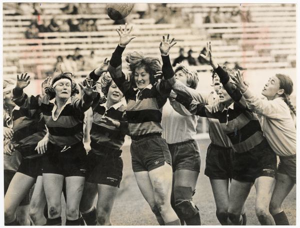 The Linwood Ladies v Californian Kiwis rugby match