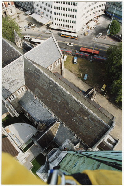 Aerial view of ChristChurch Cathedral