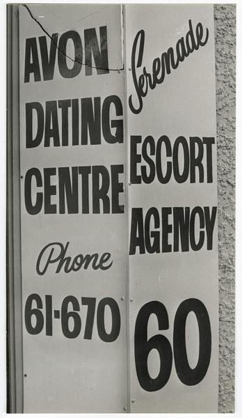 Avon Dating Centre advertising