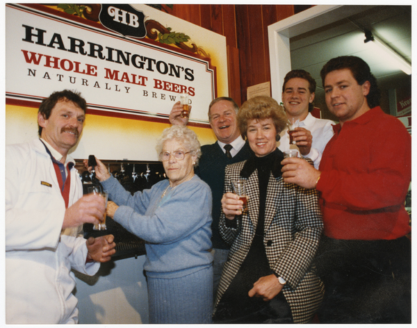 Launch of the Harrington Brewery, Kilmore Street