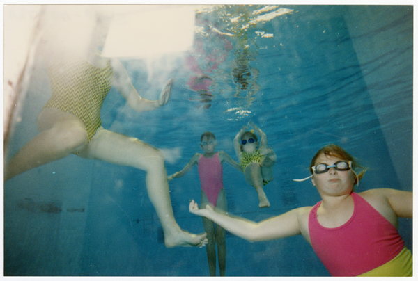 Swimmers underwater