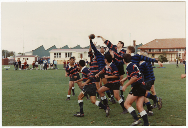 CBHS v Cathedral College rugby match