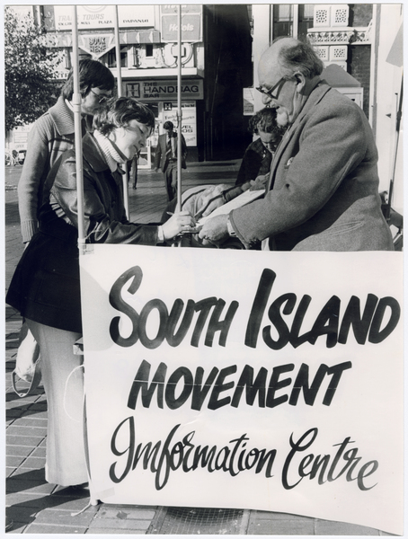 South Island Independence Movement petition
