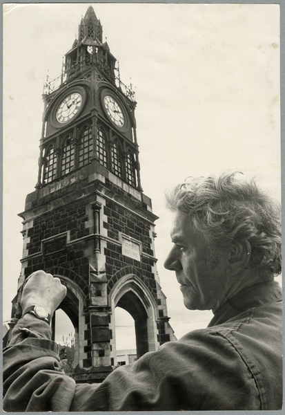 Checking the Victoria Street clock