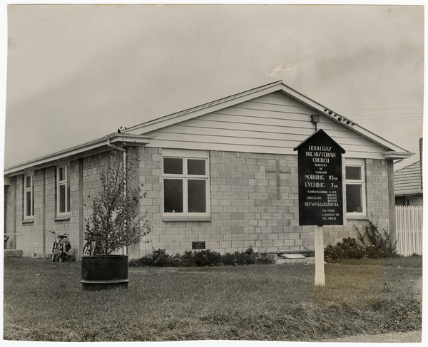 Hoon Hay Presbyterian Church hall
