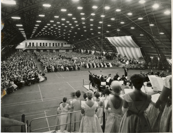 Royal Tour 1963 Concert, King Edward Barracks