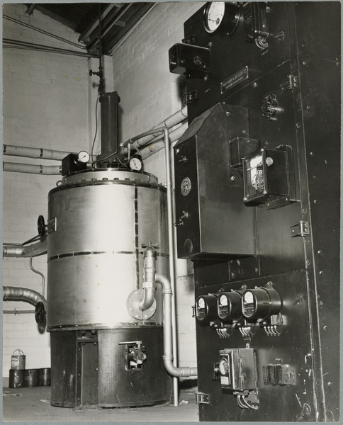 Electrically fired boiler