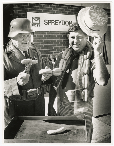 Sausage sizzle outside Spreydon Post Office