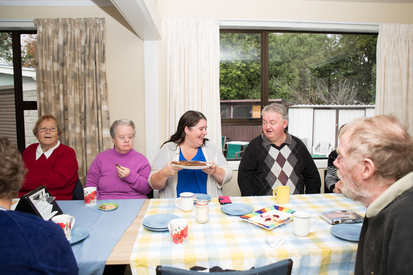 Community lunch at the Bishopdale Community Trust