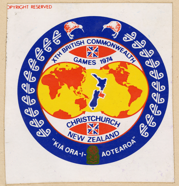 Christchurch Commonwealth Games medallion