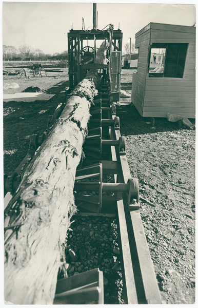 Bark stripping machinery