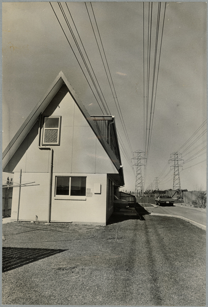 415 Avonhead Road and pylons