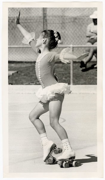 Sandra Willian, South Island roller skating champion