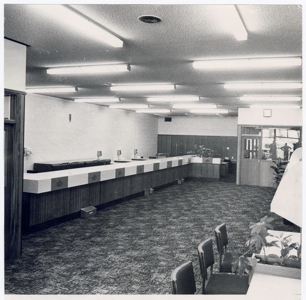 Canterbury Savings Bank interior