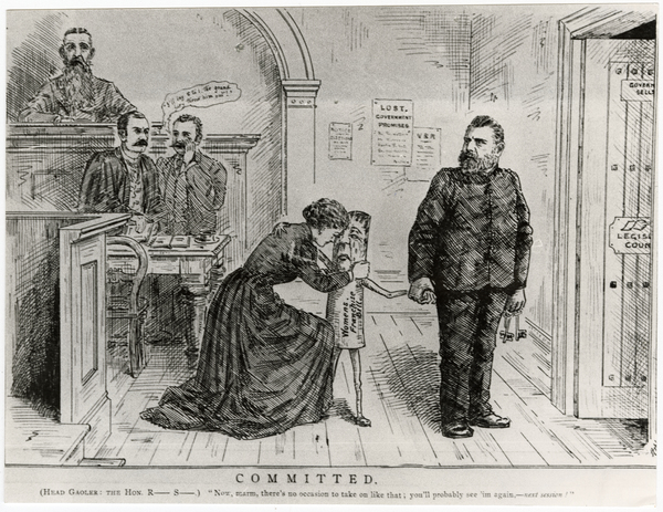 Enfranchisement cartoon