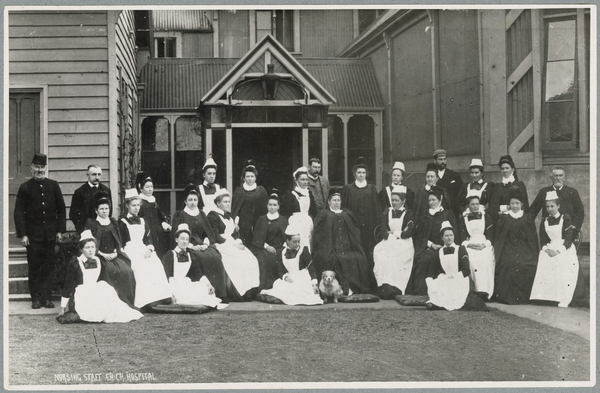 Christchurch Hospital nursing staff