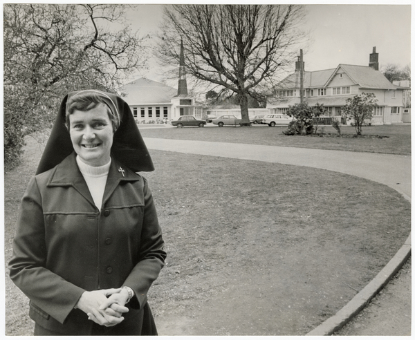 Sister Eleanor Capper at Marian College