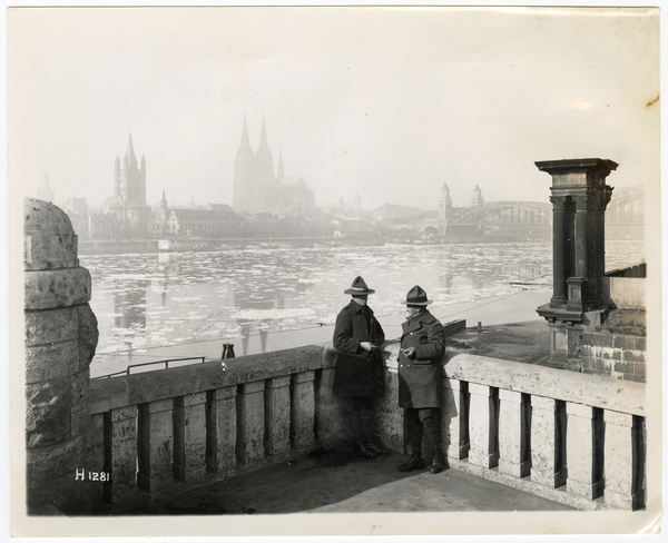 Soldiers in Cologne, Germany