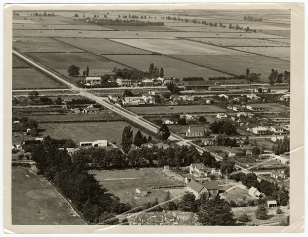 Aerial view of Templeton